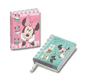 Minnie Diario Glitter