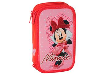 Minnie Mouse Astuccio 3 ZIP