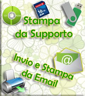 stampa da supporto e invio,stampa da email