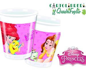 Bicchieri Compleanno Principesse CF.8
