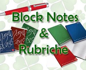 Block Notes e Rubriche