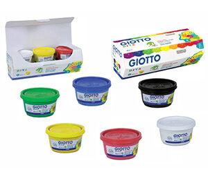 Colori a dita Giotto Cf.6 vasetti 100 ml