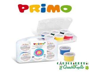 Colori a dita Primo Cf.6 vasetti 100 ml