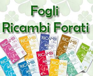 Fogli Ricambi Forati