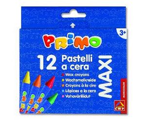 Maxi Pastelli a cera Primo Cf. 12