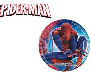 Spiderman Piatti Grandi
