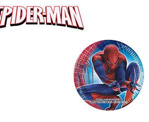 Spiderman Piatti Torta