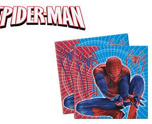 Spiderman Tovaglioli Compleanno