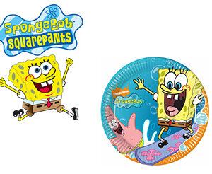 Spongebob Piatti Torta