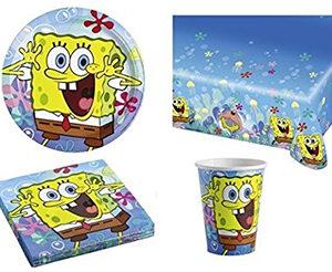 Spongebob Set Compleanno