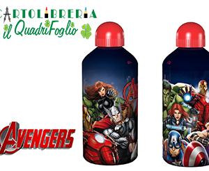 Borraccia in Alluminio Avengers