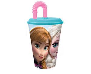 Frozen Bicchiere con Cannuccia