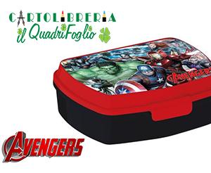 Portamerenda Marvel Avengers