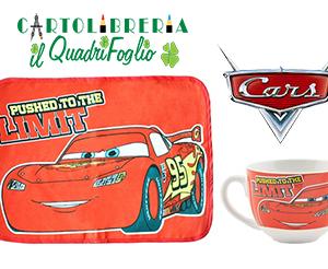 Set Tazza + Tovaglietta Americana In Tessuto Cars