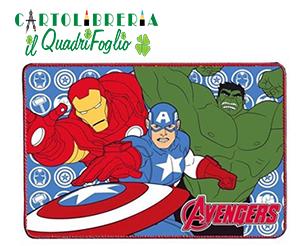 Tovaglietta Americana In Tessuto Avengers