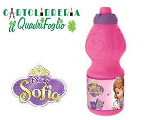 Borraccia in plastica Principessa Sofia