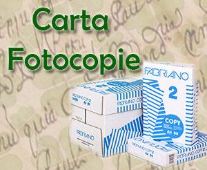 Carta Fotocopie