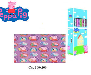 Peppa Pig Rotolo carta regalo