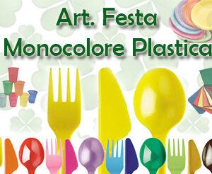Art. Festa Monocolore Plastica