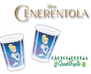 Bicchieri festa compleanno Cenerentola Pz.10