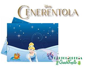 Tovaglia festa compleanno Cenerentola cm.120×180