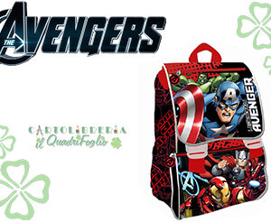 Zaino Estensibile Scuola Avengers