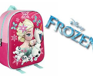 Zaino Frozen Elsa e Olaf Asilo Scuola 3D