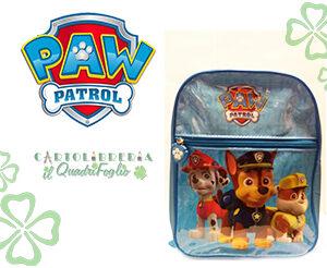 Paw Patrol Zaino Asilo