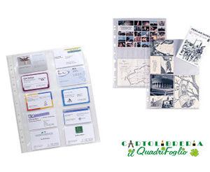 Buste a foratura per foto e cartoline 15×21 CF.10