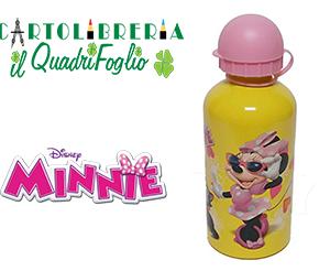 Borraccia Minnie in Alluminio personaggi Disney