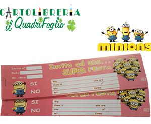 Carnet Inviti Festa Minions