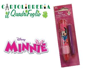 Gommapenna Minnie+refil di ricambio