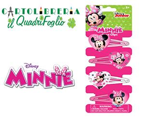 Mollettine Per Capelli Minnie Cf.4