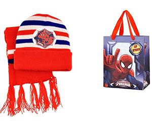 Sciarpa-Cappello-Busta Spiderman Photoshop