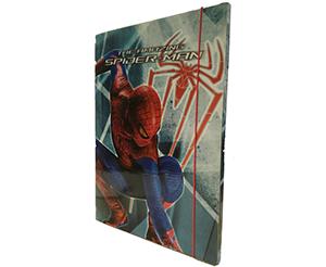 Senza titolo-Carpetta Elastico Spiderman