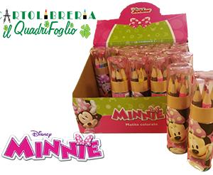 Set 6 Matite Colorate Minnie