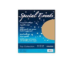 Buste e Biglietti Perlate Favini 17x17 Cf.5 Oro