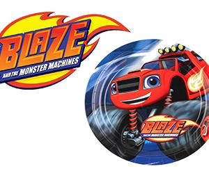 Piatti grandi festa compleanno Blaze Pz.8