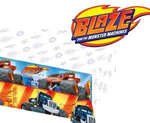 Tovaglia festa compleanno Blaze cm.120x180