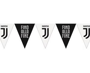 Festone Bandierine Triangolari Juventus