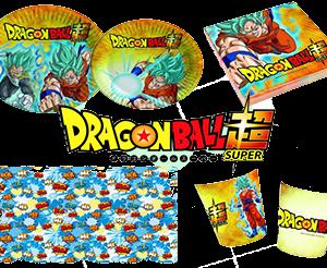 Kit coordinato festa compleanno Dragon Ball Super