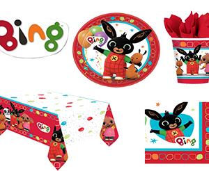 Kit coordinato festa compleanno Bing