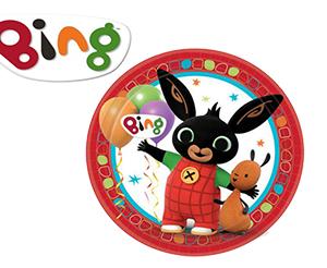 Piatti Grandi Festa Bing Confezione da 8