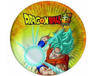 Piatti torta festa complenno Dragon Ball Super CF.8