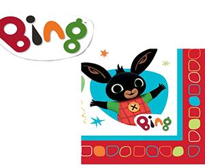 Tovaglioli Festa Bing Confezione da 16