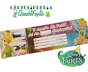 Carnet Inviti Festa Compleanno Fairies Trilli Magic