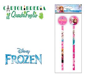 Matite Pz.2 Con Gomma Frozen Elsa e Anna