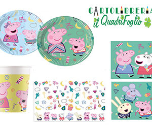 Kit compleanno Peppa Pig Messy
