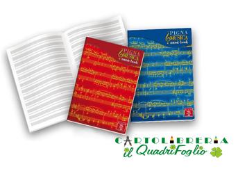 Maxi Quaderno Musica Pentagrammato