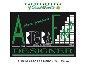Album Artgraf Nero cm.24x33 Fg.10
